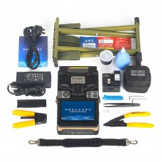 FS-60C Core Alignment Fusion Splicer Automatic Optical Fiber Splicing Machine Kit