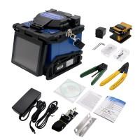 Fiber Optic Splicing Machine FTTH Fusion Splicer Kit Automatic Fiber Cleaver
