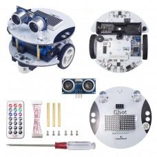 LewanSoul Qbot Programmable Smart Robot Car Kit with Ultrasonic Sensor and Light Sensor