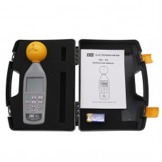 TES-593 ElectroSmog Meter 3 axis Isotropic Measurements EMF Safety Tester 10Mhz 8.0GHz