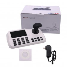 3D Axis Joystick Network Keyboard Controller For IP PTZ Dome Camera Surveillance