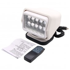 50W CREE LED Search Light Remote Control 360° Magnetic Base for Truck Boat Camping