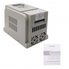 1.5KW 220V Variable Frequency Drive Converter Single Phase Input  3-Phase Output VFD for CNC Machine
