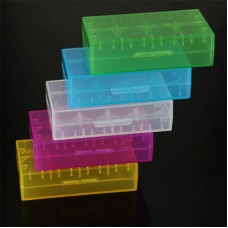 5pcs 18650 Battery Storage Box Battery Holder Storage Box Case for 18650 18350 18500 CR123