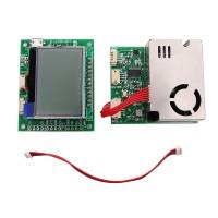 7 In 1 Air Quality Sensor Module w/ Screen for PM2.5 PM10 Temperature Humidity CO2 Formaldehyde TVOC