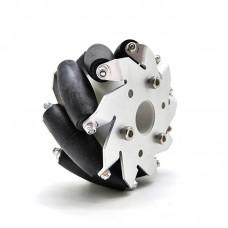 "1pc 100mm/4"" Mecanum Wheel Aluminum Alloy Omini Wheel w/ Coupling for 8mm Hub Robot Car"