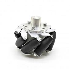 "1pc 100mm/4"" Mecanum Wheel Aluminum Alloy Omini Wheel w/ Coupling for 10mm Hub Robot Car"