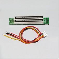 Dual 12-Level Audio Level Indicator Audio Level Display DC 7V-12V Finished for DIY
