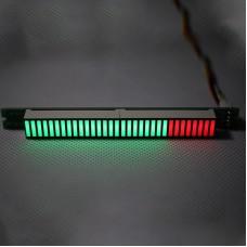 Single 32-Level LED Audio Level Indicator Audio Level Display DC7V-12V Finished for DIY