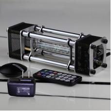 Assembled IV-18 Fluorescent Tube Clock Kit DIY 6 Digital Display Energy Pillar w/ Adapter