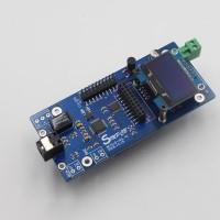 "AK4118 Digital Receiver DAC Board Decoder SPDIF to IIS Coaxial Optical USB AES/EBU Input 1.3"" OLED"