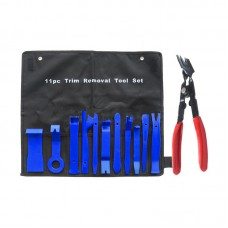 12pcs Car Trim Removal Tool Set Kit for Audio Stereo System Panel Dashboard Zip-Lock Bag Packing