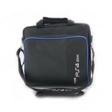 For PS4 Storage Bag Travel Protective Case Handbag Shoulder Bag for PS4 Pro PS4 Black White Letters