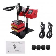 """Manual Rosin Heat Press Machine Dual Temperature Controllers Heated Plates 4.7""""x4.7""""/12x12cm CK3815-1"""