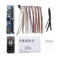 6-Digit Nixie Tube Board + Remote Control Nixie Tube Clock DIY Kit for in12 in14 in18 qs30-1