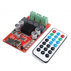 TPA3116 2*50W Bluetooth Receiver Amplifier Board+Remote Control TF Card U Disk Player