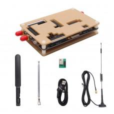 1MHz-6GHz HackRF One Software Defined Radio SDR & Antennas Bundle Acrylic Housing Kit