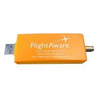FlightAware Pro Stick USB ADS-B Receiver SDR Data Receiver R820T2 Chip Builtin Amplifier SMA F