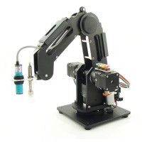 R290 3Axis Robot Arm Industrial Robotic Arm Kit Assembled Load 500g APP Fits for Android Smartphone