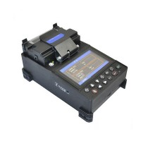JW4107 Core Alignment Fusion Splicer Optical Fiber Splicer Splicing Machine w/ 3-In-1 Fiber Cleaver
