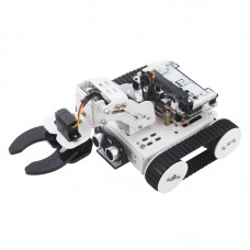 4-In-1 Qtruck Programmable Robot Kit Unfinished Support APP Handlebit Control (w/o Microbit Motherboard)
