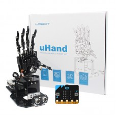 uHandbit Open Source Robotic Hand Unfinished 180° Swivel Base APP Control w/ Micro: bit Main Board