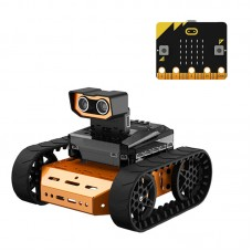 Microbit Programmable Robot Kit Variety in Styles Unfinished Qdee Starter Version w/ Microbit Board