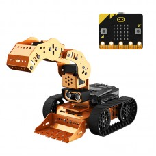 Microbit Programmable Robot Kit Variety in Styles Unfinished Qdee Standard Version w/ Microbit Board