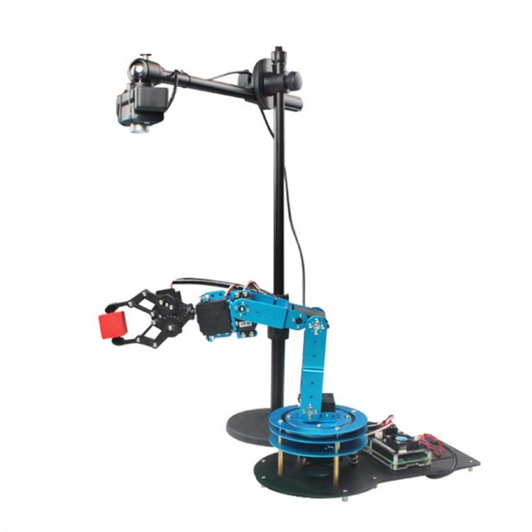 6DOF Robotic Arm Mechanical Arm w/ HD Camera WiFi Control for Python