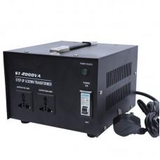 ST-2000 2000W Step Up & Down Transformer 220V to 110V Power Transformer 110V to 220V