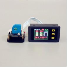 """VAH75010S Multimeter Ammeter Voltmeter 0-120V 0-10A w/ Hall Sensor 1.8"""" Colorful Screen"""