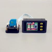 """VAH75030S Multimeter Ammeter Voltmeter 0-120V 0-30A w/ Hall Sensor 1.8"""" Colorful Screen"""