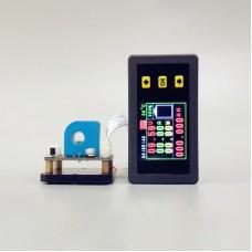 """VAH45005S Multimeter Ammeter Voltmeter 0-45V 0-5A w/ Hall Sensor 1.8"""" Colorful LCD"""