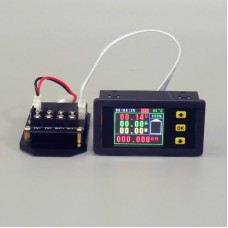 """VA75020S Multimeter Ammeter Voltmeter 0-120A 0-20A 1.8"""" Color LCD Imported Current Sampling Resistor"""