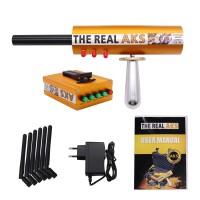 The Real AKS Gold Long Range Gold Detector 6 Antennas Plastic Case for Gold Silver Gem Diamond Golden