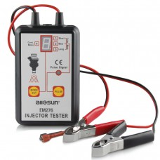 EM276 Fuel Injector Tester 4 Pulse Modes Powerful Fuel System Scanner Tool Analyzer