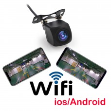 150° Car Wifi Rear View Camera Night Version Backup Reverse Camera for Android IOS