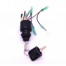 17009A5 Ignition Key Switch for Mercury Outboard Motors 3 Position Off-Run-Start
