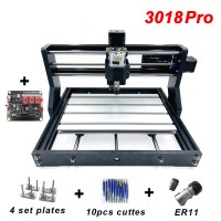 3018pro Laser Engraver PVC + 15000mW Laser 3-Axis Milling Machine w/ Controller Board