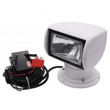 Remote Control Search Light Spotlight for Boat Truck Car 12V 100W w/ Rectangular Remote Control