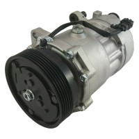 12V Air Conditioning Compressor for Audi A4 Seat Alhambra Ibiza VW Passat Vento 120mm