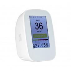"D9 Series Air Quality Monitor PM2.5 TVOC Temperature Humidity w/ 3.5"" TFT Color Display PM2.5+TVOC"