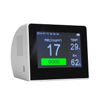 K6 Series Air Quality Monitor PM2.5+TOVC+HCHO Detector w/3.5 Inch TFT Color Display