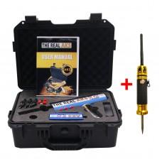 The Real AKS Long Range Gold Detector 6 Antennas Plastic Case for Silver Gem Diamond Blue + Filter