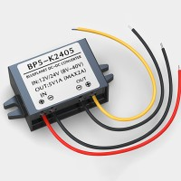 BP5-K2405 DC-DC Buck Converter DC to DC Step Down Buck Converter 12V/24V to 5V1A Plastic Shell