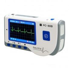 "Easy ECG PC-80B Portable ECG Monitor Machine Heart Rate 2.8"" Color LCD Bluetooth Version"
