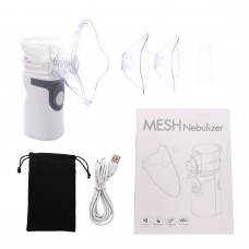 JZ-492S Rechargeable Portable Nebulizer Handheld Nebulizer 10ml for Kids Adults Asthma Pro