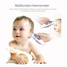 JZ-351N Digital Forehead and Ear Thermometer Adult Baby Infrared Thermometer Three-Color Backlight