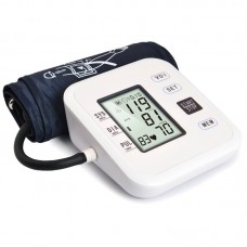 JZ-252A Automatic Blood Pressure Monitor Upper Arm w/ English Speed Broadcast 30° Tilt Angle