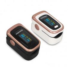 JZ-131R Digital Fingertip Pulse Oximeter Portable Pulse Oximeter SPO2 PR PI Sleep Monitoring w/ OLED Screen